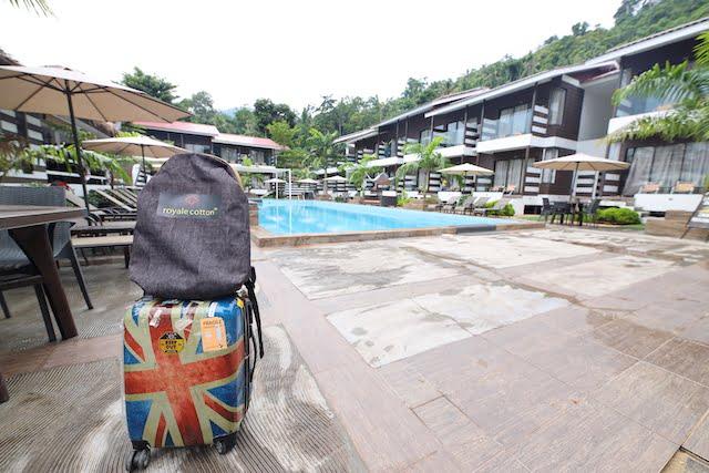 hotel review the barat tioman kampung juara 07