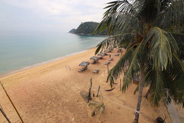 hotel review the barat tioman kampung juara 08