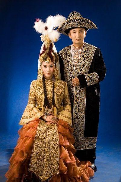 kazakhstan traditional dress