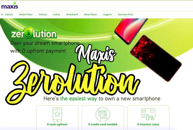 promosi maxis zerolution 2 smartphone 01