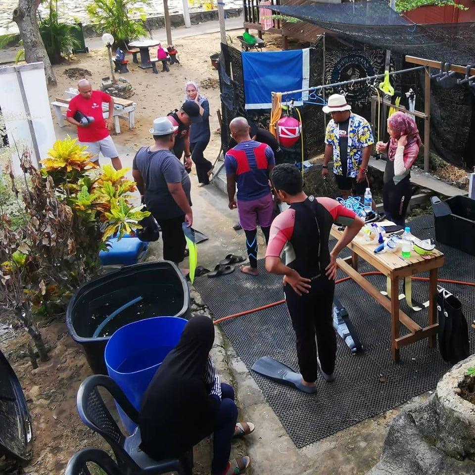 Pengalaman+Scuba+Diving+Di+Kampung+Genting+Pulau+Tioman+00