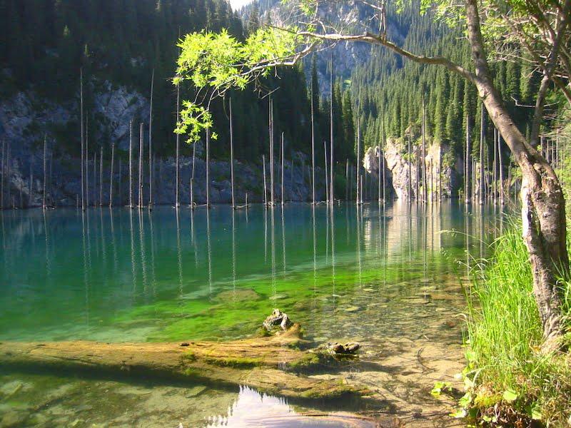 Tempat Menarik di Kazakhstan-Kaindy_lake