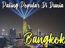Bangkok Paling Popular Di Dunia 2020