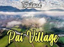 Perkampungan Pai Thailand Destinasi Pelancongan Popular Terbaru 01 copy