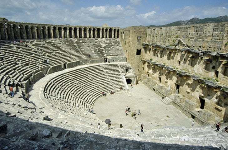 Tempat-Popular-Di-Turki 06 Aspendos