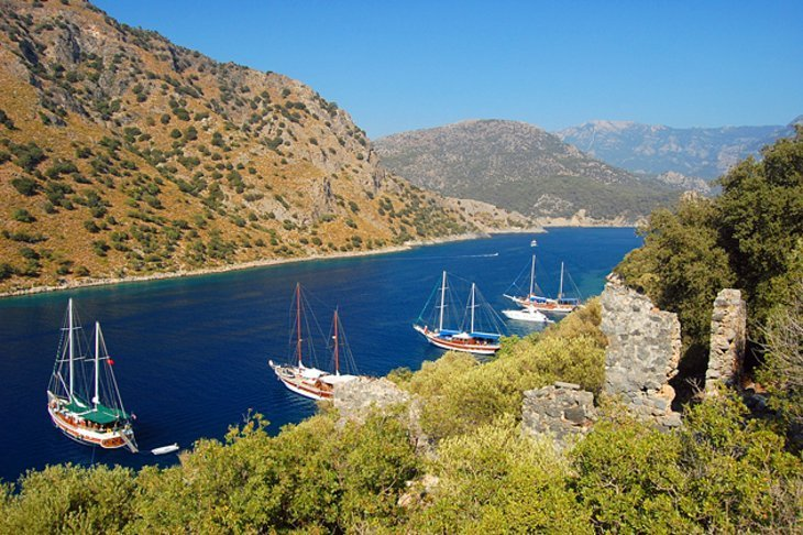 Tempat-Popular-Di-Turki 10 Mediterranean