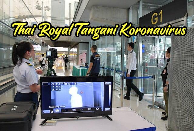Kerajaan Thai Royal Tangani Koronavirus Novel 2019-nCoV copy