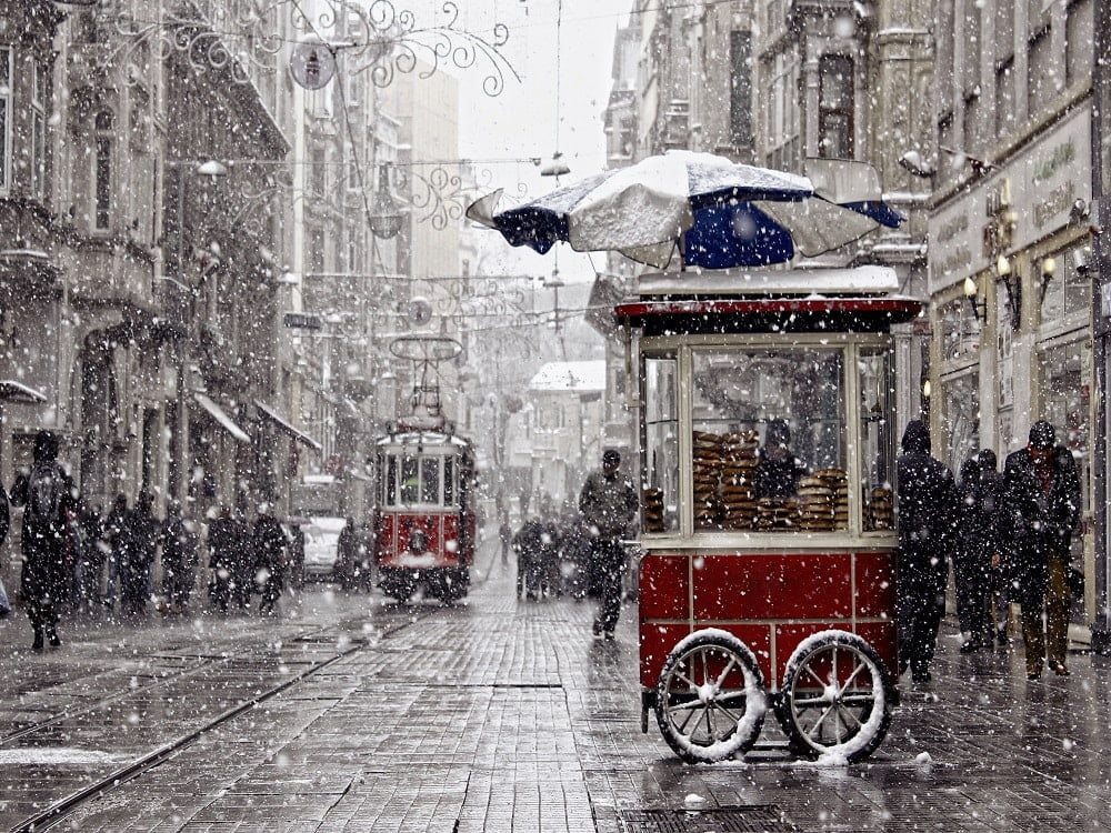 Beautiful Snow in Turkey 01