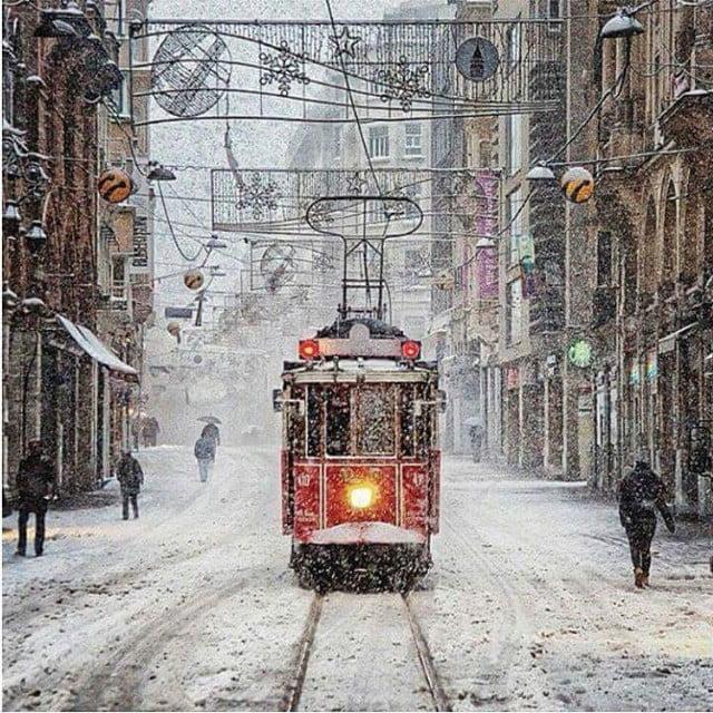 Beautiful Snow in Turkey 02