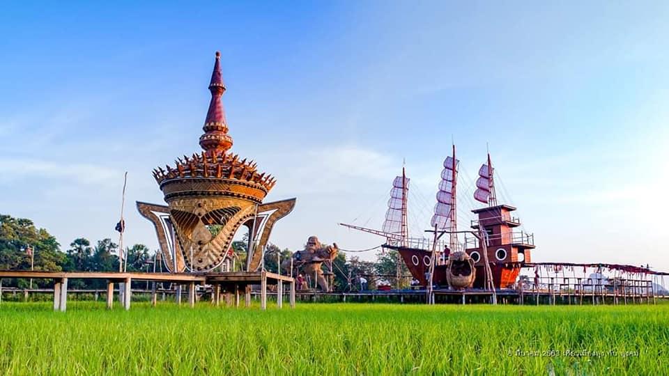 Sawah_Padi_Cantik_Sampaothai_Phatthalung_Thailand_07