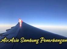 AirAsia Cadang Sambung Penerbangan Domestik Akhir April 2020