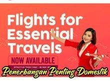 AirAsia Buka Penerbangan Domestik Untuk Urusan Penting 1