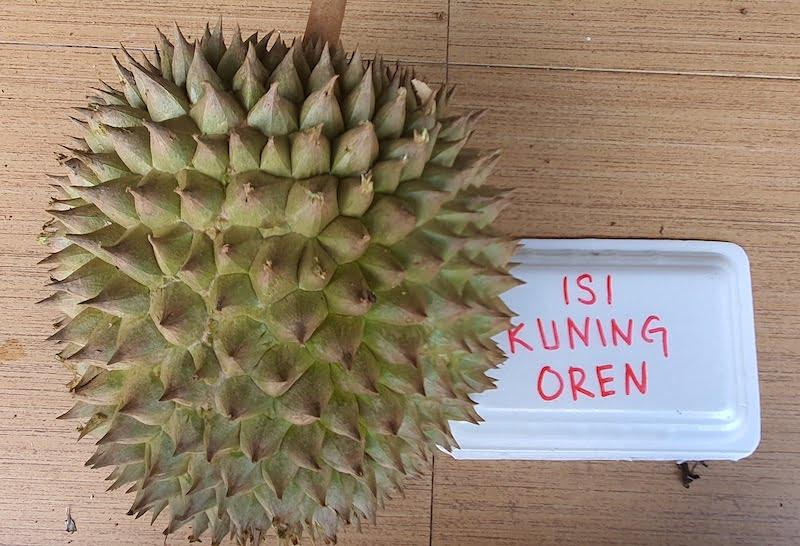 Makan Durian Bukit Jalan Tapah Cameron Highlands 02