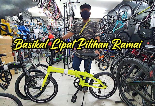 Basikal Lipat Folding Bike Terbaik Pilihan Ramai 01 copy