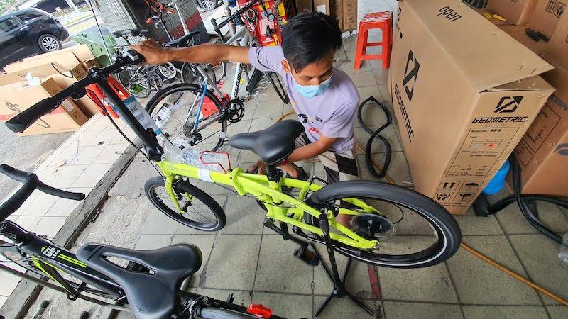 Basikal Lipat Folding Bike Terbaik Pilihan Ramai 02