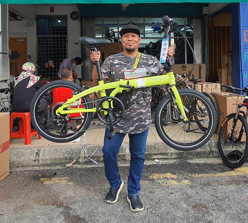 Basikal Lipat Folding Bike Terbaik Pilihan Ramai 03