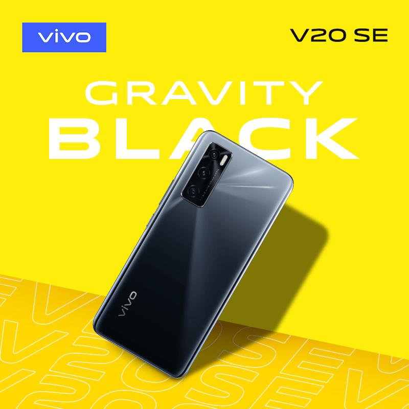 vivo V20 SE GravityBlack Malaysia Price