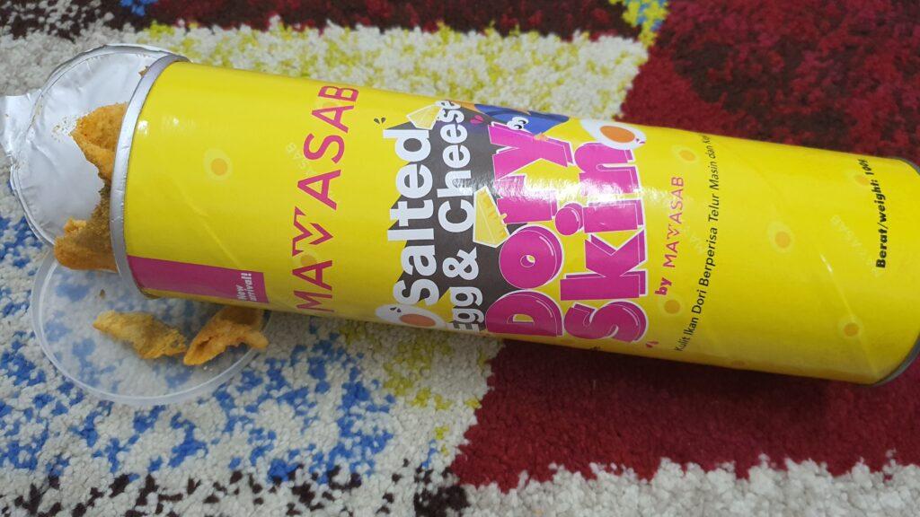 Food Review Mamasab Dory Skin Salted Egg 06