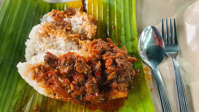 Sarapan Di Restoran Nasi Lemak Antarabangsa Kampung Baru 04