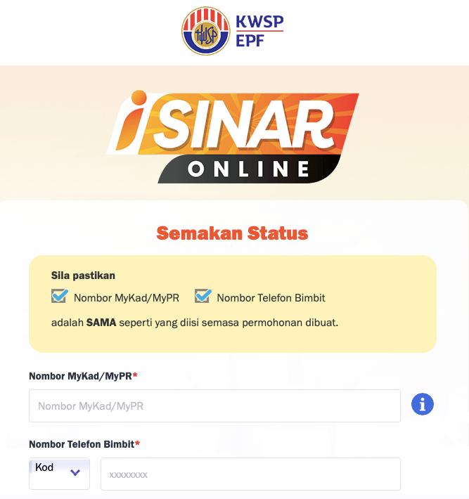 Semakan-Status-Permohonan-iSinar-Online-02