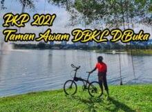 Taman Awam DBKL DiBuka Masa PKP 2021 3