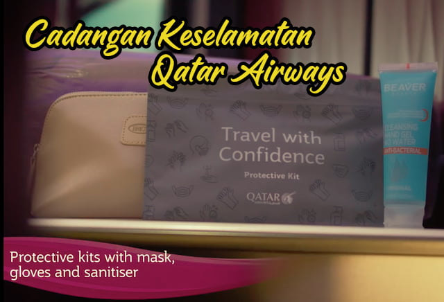 Cadangan Sebelum perjalanan Dengan Qatar Airways 01