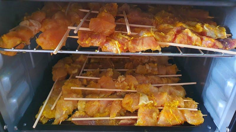 Resipi Masak Sate Ayam Sate Daging Guna Ketuhar 03