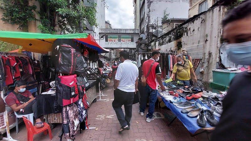 Pasar Karat Kuala Lumpur Chinatown Petaling Street 05