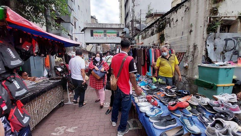 Pasar Karat Kuala Lumpur Chinatown Petaling Street 06
