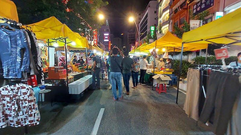 Bazar Aidilfitri Jalan Tunku Abdul Rahman Tahun 2021-03