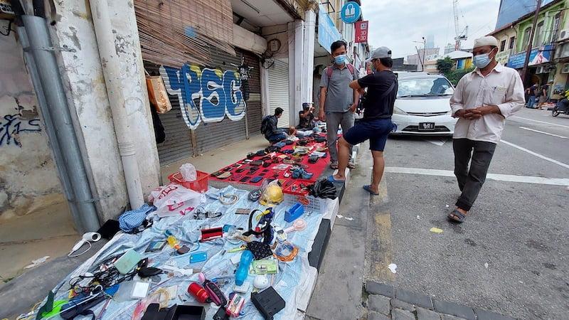 Pasar Karat Kuala Lumpur Chinatown Petaling Street 02 copy