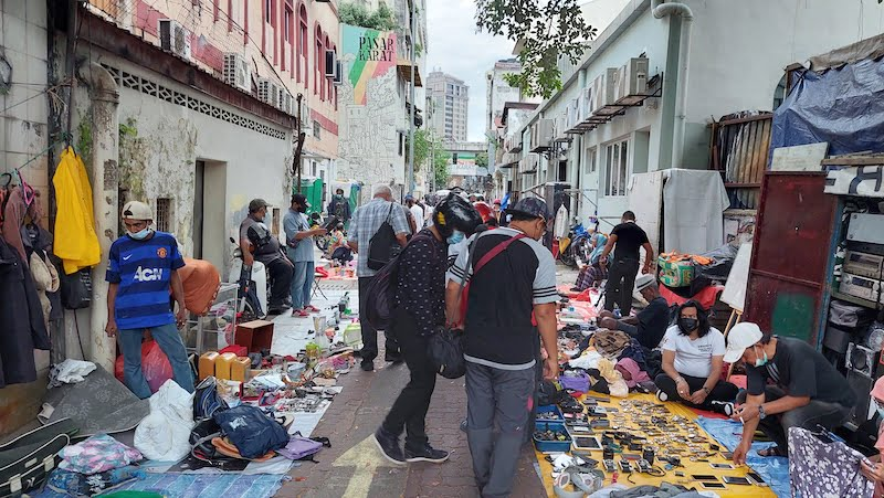 Pasar Karat Kuala Lumpur Chinatown Petaling Street 03