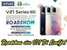 vivo V21 Superday Roadshow Lowyat Plaza KL