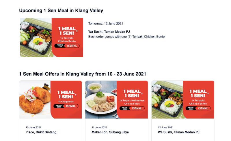 1 Sen Meal Campaign AirAsia Food Promosi Terbaru Wajib Beli 04