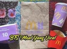 Harga McDonalds BTS Meal Di Malaysia Cuma RM15 Satu Set