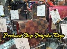 Preloved Shop Branded Items Di Shinjuku Tokyo Japan